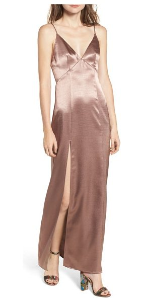 Privacy Please bridge maxi dress in mauve - When your plans are amazing, make sure you have a dress...