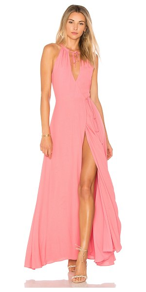 Privacy Please Cambio Maxi Dress in pink - Wrapped up and ready to go in the Cambio Maxi Dress by...