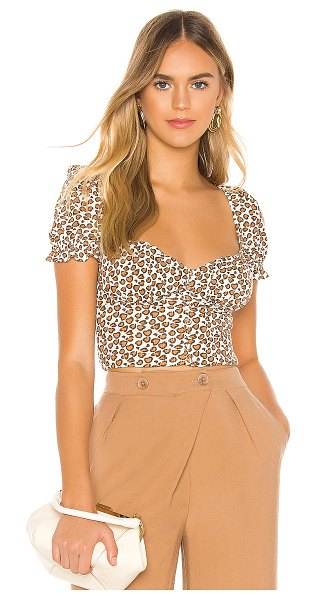 Privacy Please edith top in cheetah