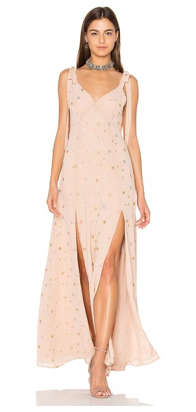 Privacy Please Jupiter Dress in blush - Starry eyed. Designed from light crepe fabric with...