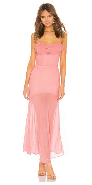 Privacy Please mira maxi dress in mauve