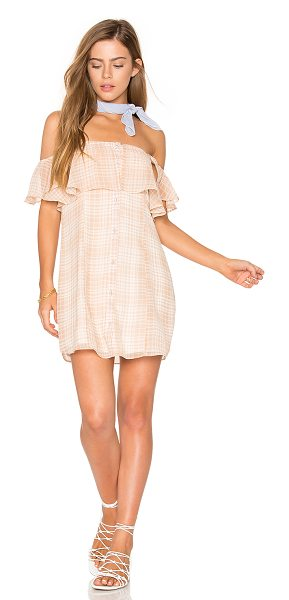 "Privacy Please Norval Dress in beige - ""Beach babe breezy and resort ready. Cut from a..."