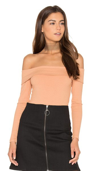 Privacy Please Nova Bodysuit in blush - Can you dig it. The Nova Bodysuit by Privacy Please is...