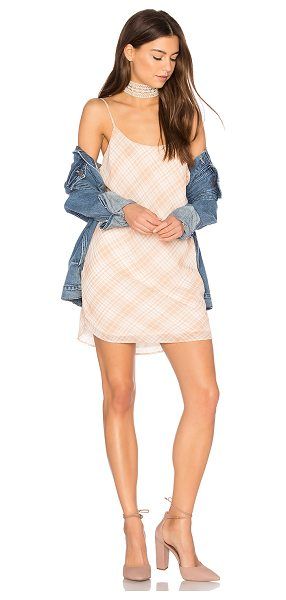 Privacy Please Ramsay Dress in nude - Mad about plaid. The Ramsay Dress by Privacy Please is...