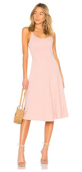 Privacy Please renner midi dress in dusty pink