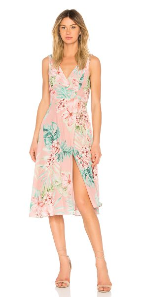 PRIVACY PLEASE Wilson Dress in coral - Self: 54% rayon 46% viscoseLining: 100% poly. Hand wash...