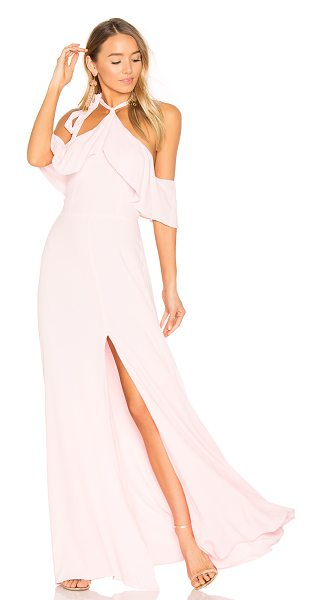 Privacy Please x REVOLVE Bennette Maxi in pink - Floating on cloud nine in The Privacy Please x REVOLVE...