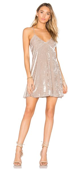 Privacy Please x REVOLVE Downtown Slip Dress in cream - In the lap of luxury. An exclusive to REVOLVE, the...