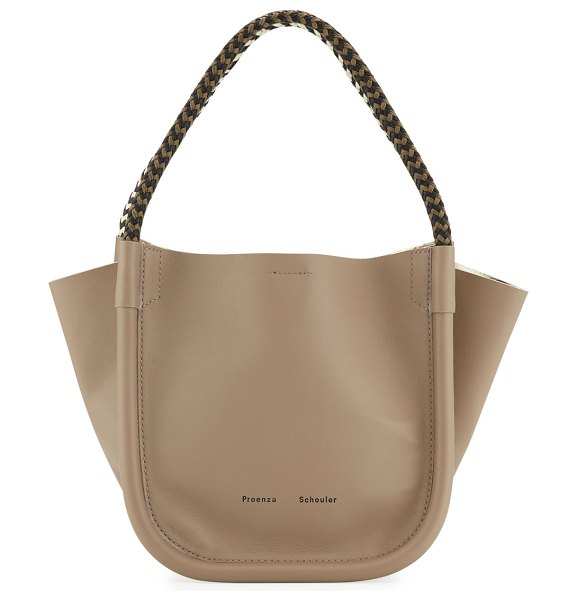 Proenza Schouler Extra Small Super Lux Tote Bag in taupe