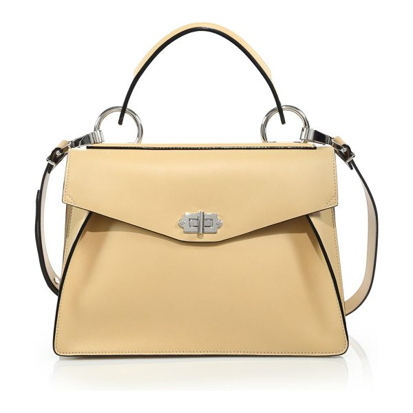 PROENZA SCHOULER medium hava leather satchel - An enduring silhouette modernized with luxe hardware....