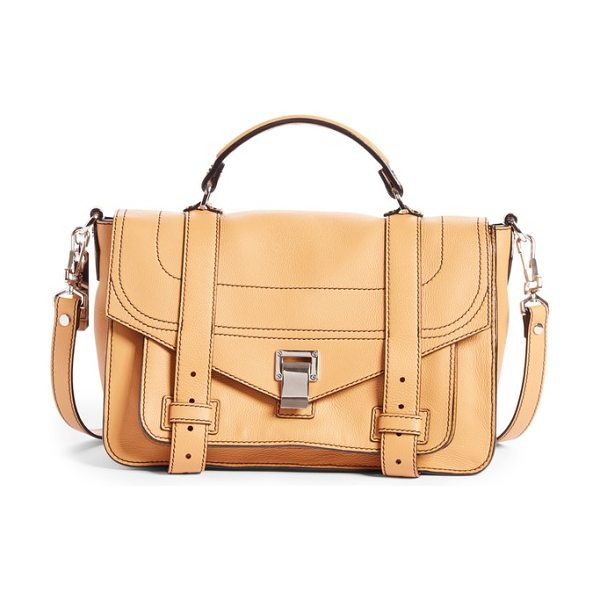 PROENZA SCHOULER medium ps1+ grainy leather satchel - Fresh design details perfect the look of this iconic...