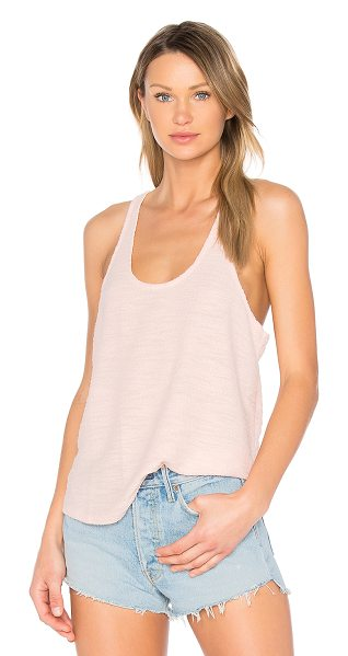 Publish Jennifer Racerback Tank in pink - Cotton blend. Knit fabric. PLIS-WS19. P1703025. Get...