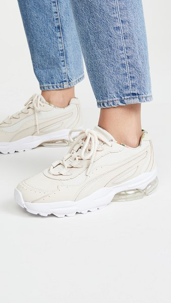 PUMA cell stellar x ts sneakers in pastel parchment