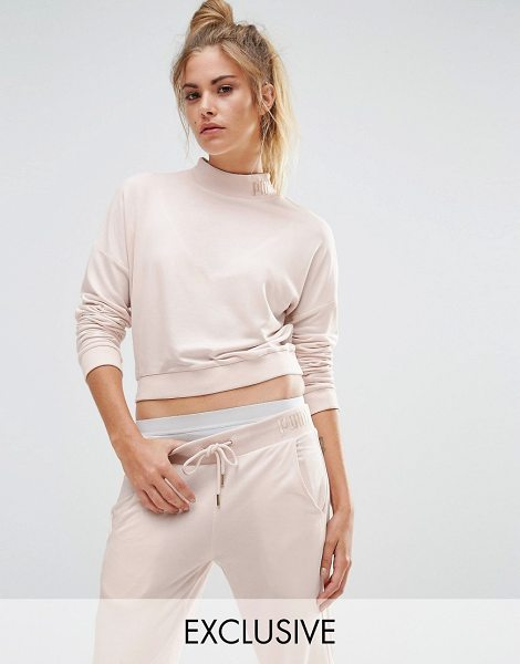 PUMA Exclusive To ASOS High Neck Cropped Sweat - Sweatshirt by Puma, Soft-touch sweat, High neckline,...