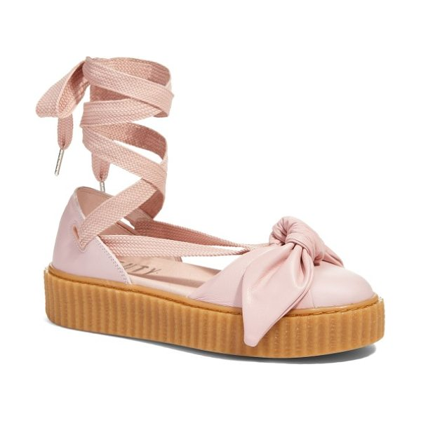 PUMA fenty  by rihanna bow creeper sandal - Part of a collaboration between PUMA and Rihanna's FENTY...
