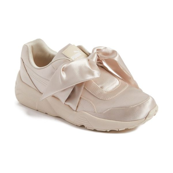PUMA fenty  by rihanna bow sneaker in pink tint - Part of a collaboration with Rihanna's FENTY label, a...
