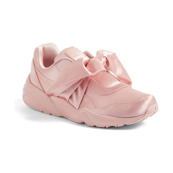 PUMA fenty  by rihanna bow sneaker in silver pink - Part of a collaboration with Rihanna's FENTY label, a...