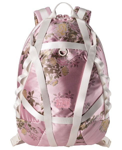 PUMA fenty  by rihanna parachute backpack - A lustrous backpack ornamented with floral brocade...