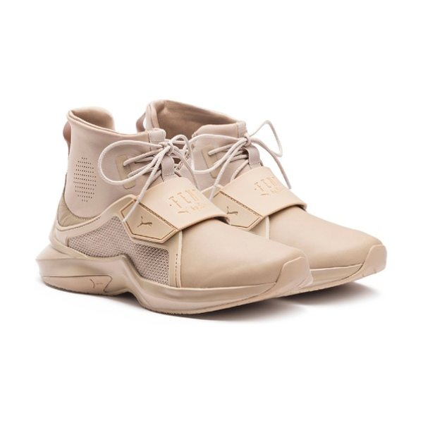 PUMA fenty  by rihanna trainer sneaker in beige - Part of a collaboration with Rihanna's FENTY label, this...