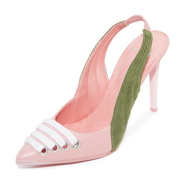 PUMA fenty x  slingback heels in silver/pink - From Rihanna's FENTY x PUMA collection, these...