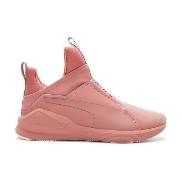 PUMA Fierce Naturals Sneaker in rose - Textile and man made upper with rubber sole. Pull on...