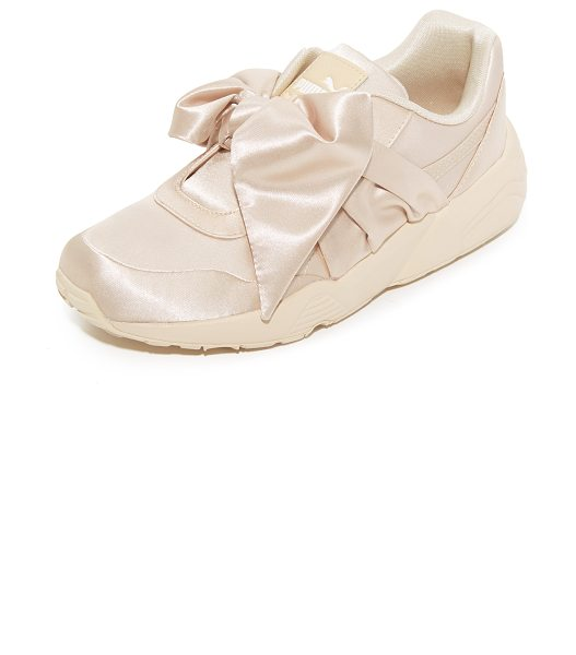 PUMA fenty x  bow sneakers in pink tint/pink tint/pink tint - From Rihanna's FENTY x PUMA collection, luxe satin...