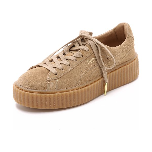 PUMA X rihanna creeper sneakers - These suede PUMA sneakers are part of the brand's first...