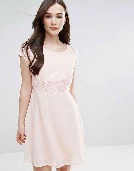 "Pussycat London Skater Dress in pink - """"Casual dress by Pussycat London, Lined woven fabric,..."