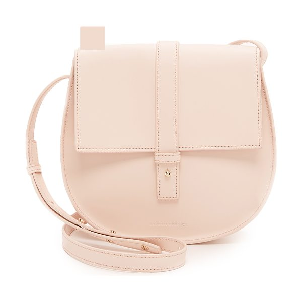 Rachael Ruddick Saddle bag in blush