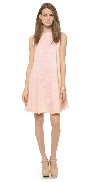 RACHEL COMEY Chronicle dress - Acid washed denim and frayed edges give this Rachel...