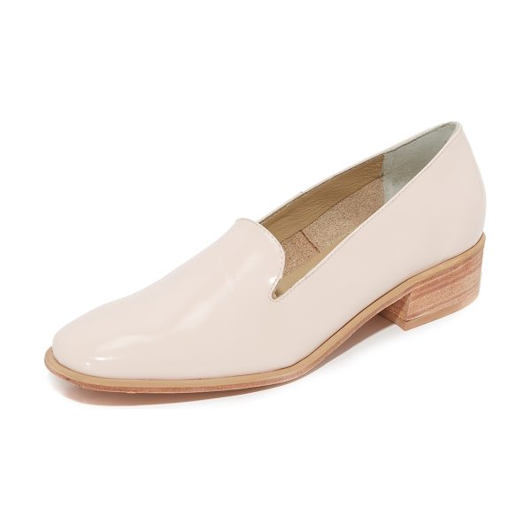 Rachel Comey evry loafers in blush - Charming Rachel Comey loafers in patent leather. Leather...