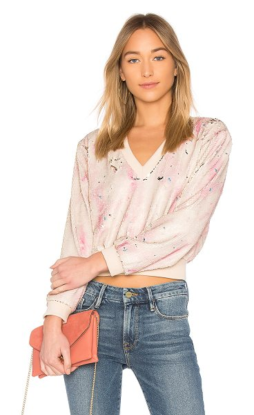 Rachel Comey Italo Top in pink - Bring radiant shimmer to your everyday with Rachel...