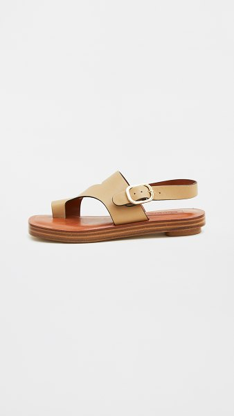 Rachel Comey lark sandals in curry