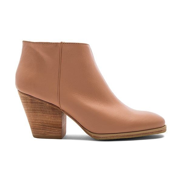 "Rachel Comey Mars Bootie in beige - ""Leather upper with rubber sole. Elasticized pull on..."