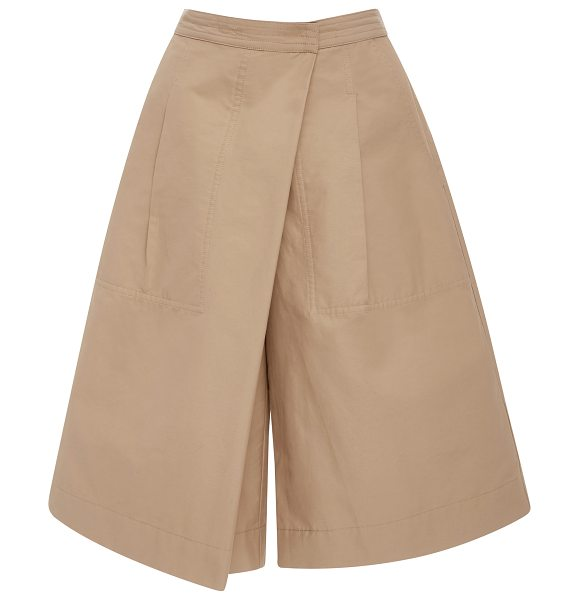 Rachel Comey New Wrap Bermuda Shorts in tan - Featuring a wrap waist this new feminine take on the...