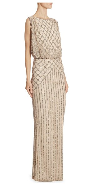 RACHEL GILBERT yuliya sleeveless gown - Glistening embellished gown in sleeveless style....