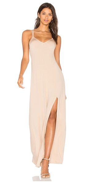 Rachel Pally Charmaine Dress in tan - 92% modal 8% spandex. Dry clean recommended. Unlined....