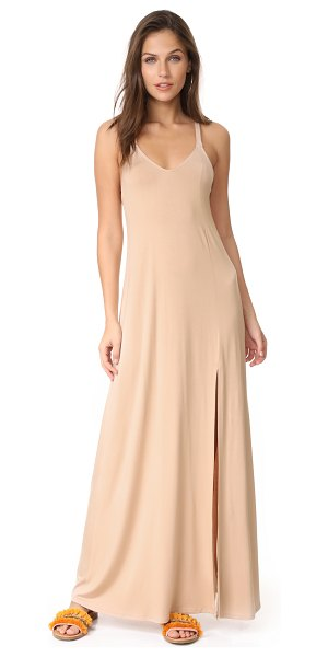 Rachel Pally charmaine dress in bamboo - Double straps crisscross at the back of this easy Rachel...
