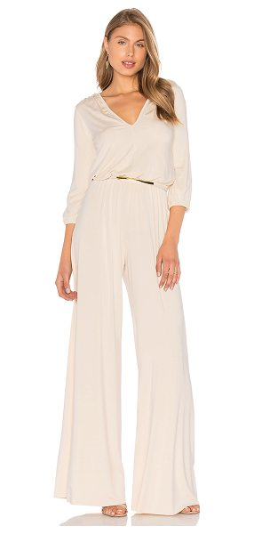 RACHEL PALLY Clancy Jumpsuit - 92% modal 8% spandex. Dry clean recommended. Elasticized...
