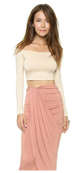 RACHEL PALLY Cunningham top - A boat neck Rachel Pally crop top rendered in soft...