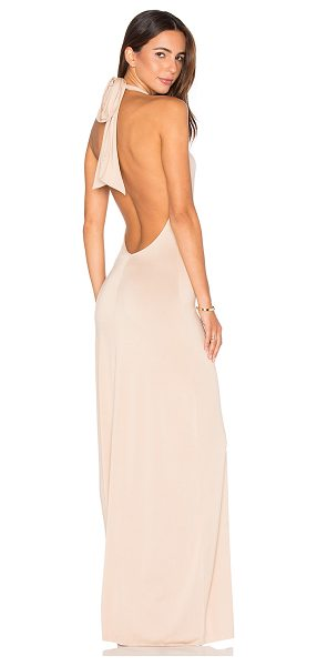 RACHEL PALLY Fausto Maxi in beige - 92% modal 8% spandex. Dry clean only. Unlined. Halter...