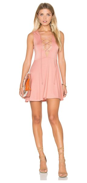 Rachel Pally Kaili Mini Dress in blush - 92% modal 8% spandex. Dry clean recommended. Unlined....