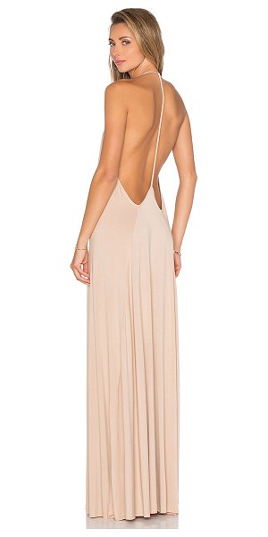 Rachel Pally Leia Dress in tan - 92% modal 8% spandex. Dry clean recommended. Front...