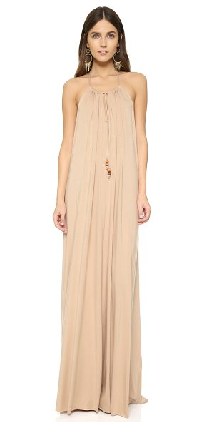 Rachel Pally Leia maxi dress in bamboo - This flowing jersey Rachel Pally maxi dress has thin...