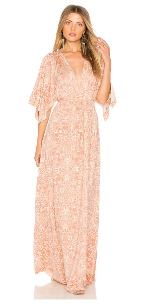 RACHEL PALLY Long Caftan Dress - Cotton blend. Dry clean only. Unlined. Jersey knit...
