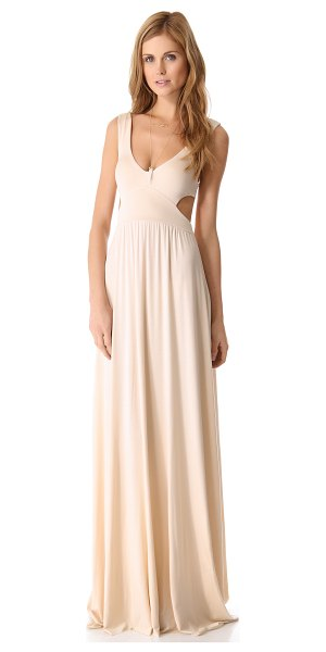 Rachel Pally long cutout dress in cream - Exclusive to Shopbop. This Rachel Pally maxi dress...