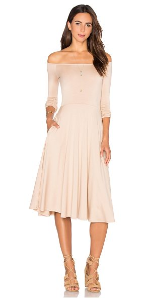 RACHEL PALLY Long Sleeve Lovely Dress - 92% modal 8% spandex. Dry clean recommended. Unlined....