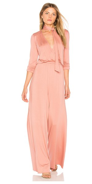 "Rachel Pally Miro Jumpsuit in pink - ""Cotton blend. Dry clean only. Jersey knit fabric...."