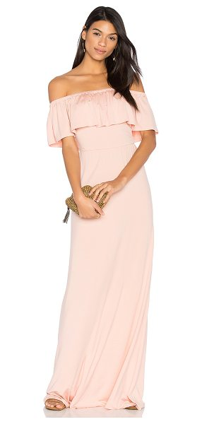 "Rachel Pally Reston Maxi in blush - ""92% modal 9% elastane. Dry clean recommended. Unlined...."