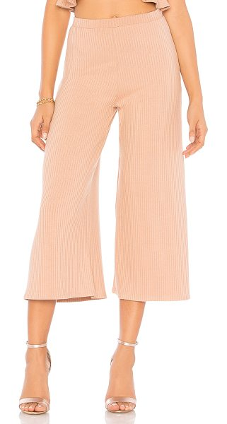 "Rachel Pally Rib Lowe Pant in pink - ""94% modal 6% spandex. Dry clean only. Elasticized..."